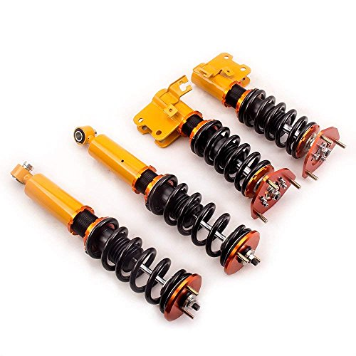 Coilovers Struts for Nissan 180SX 200SX Sileighty Silvia 240SX S13 89-98 Suspension Coil Spring Shock Strut ()