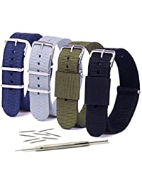Vetoo 20mm Watch Bands,Nato Nylon Replacement Watch Strap...