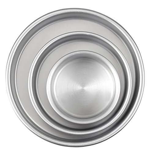 wilton round cake pan set - 3