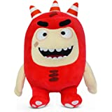 """Oddbods Fuse Soft Stuffed Plush Toys — for Boys and Girls — Red (12"""" Tall)"""