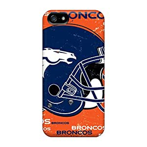 DrawsBriscoe Iphone 5/5s Shock Absorption Hard Phone Case Custom Nice Denver Broncos Pictures [tbR12728UHOG]