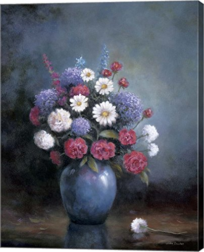 Beautiful Floral A by John Zaccheo Canvas Art Wall Picture, Gallery Wrap,
