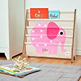 CUSTOM EMBROIDERED MONOGRAMMED PERSONALIZED 3 Sprouts Book Rack – Elephant