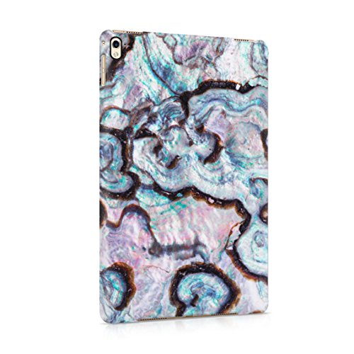 (Paua Abalone Shell Marble Print Plastic Tablet Snap On Back Cover Shell For iPad Pro 9.7)