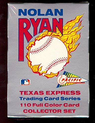 1992 Pacific Texas Express Nolan Ryan Complete Box Set 1991 FACTORY -