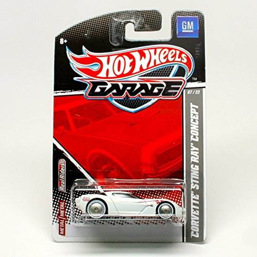 Hot Wheels Garage Corvette Sting Ray ()