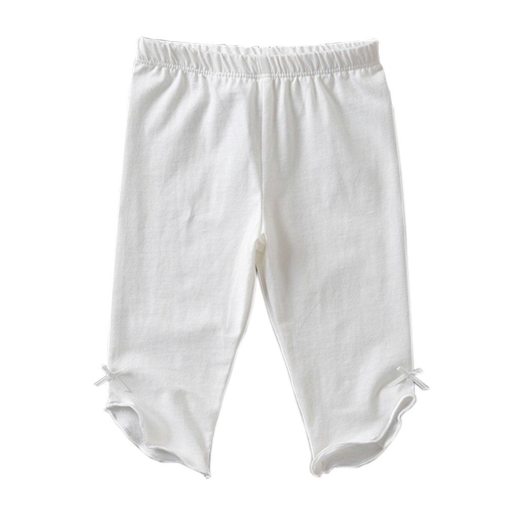 KIDS BRON Cotton Capri Crop Summer Leggings for School Or Play (3-Packs) (4T/Toddler Girl, 3pk-Capri BWP) by KIDS BRON (Image #3)