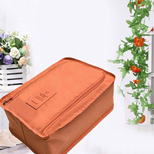 Zapatos bolsas portátiles bolsa impermeable del maquillaje bolsa de almacenamiento Ver.3 Hangbag Comesitc Viaje Organizador