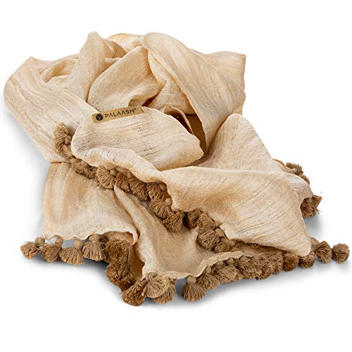 Summer scarfs for women Pure Wraps Giving Shawl Pure Muga Silk Shawl Luxury Leightweight