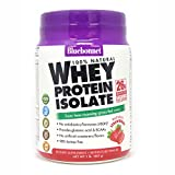 Bluebonnet Nutrition 100% Natural Whey Protein Isolate Powder, Strawberry Flavor, 1 Pound