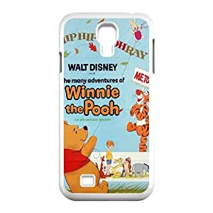 Unique Design Cases Hqmco Samsung Galaxy S4 I9500 Cell Phone Case The Many Adventures of Winnie the Pooh Printed Cover Protector