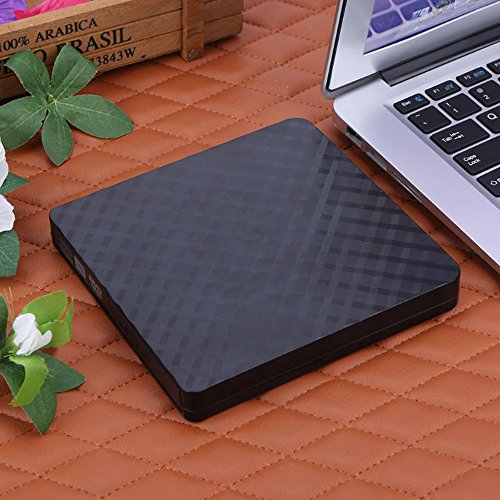 TJ8 External CD Drive-USB 3.0 Portable Slim CD DVD +/-RW Drive Writer/Rewriter/Burner,High Speed Date Transfer for WIN7/8/10/Linux/Mac OS Macbook Laptop Desktop Notebook by TJ8 (Image #7)