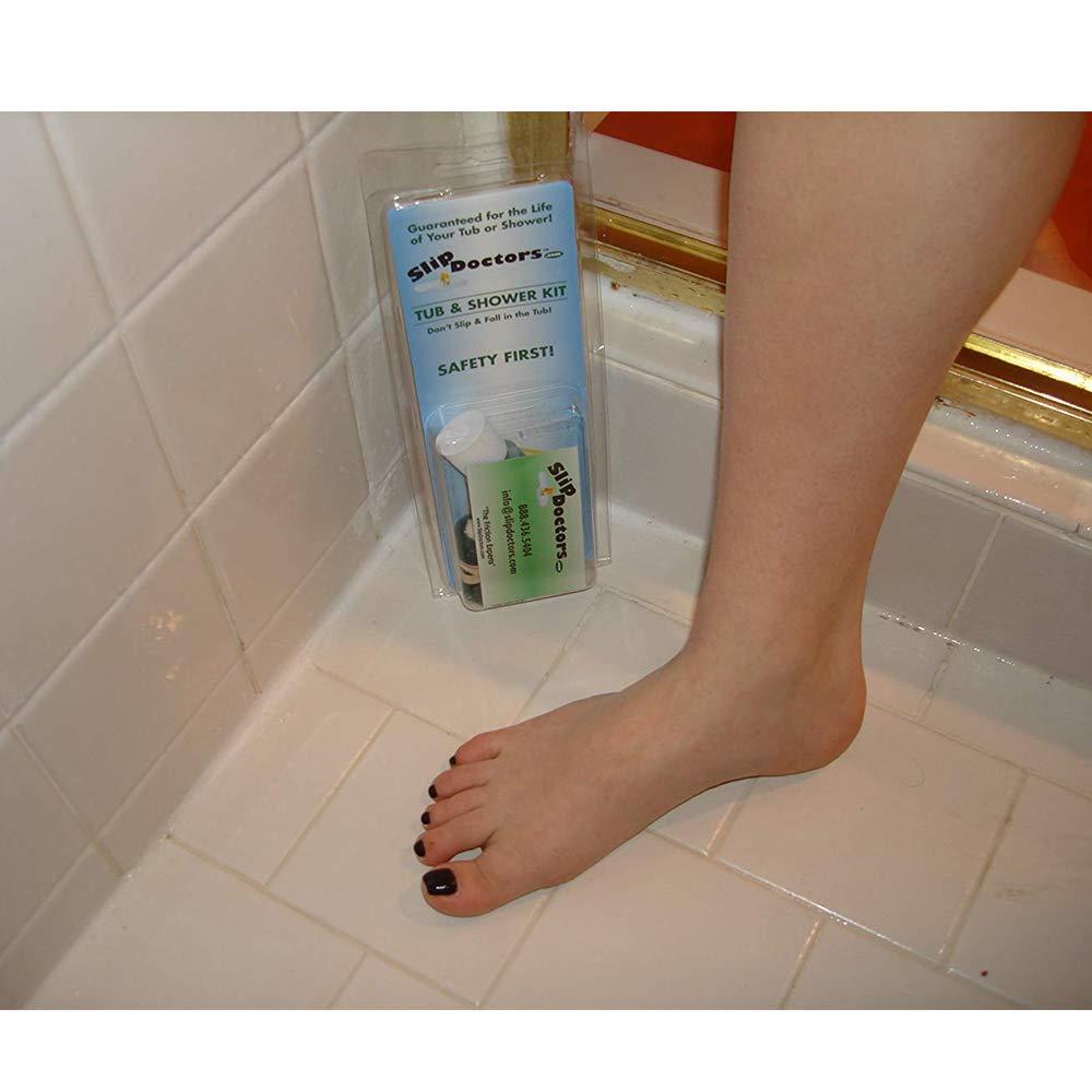 Amazon.com: Bathtub Non Slip Shower Safety Treatment Kit: Home & Kitchen