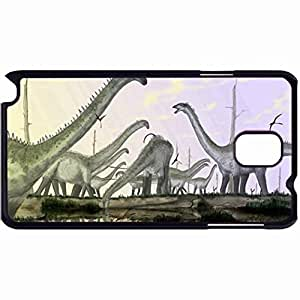 New Style Customized Back Cover Case For Samsung Galaxy Note 3 Hardshell Case, Back Cover Design Diplodocus Personalized Unique Case For Samsung Note 3
