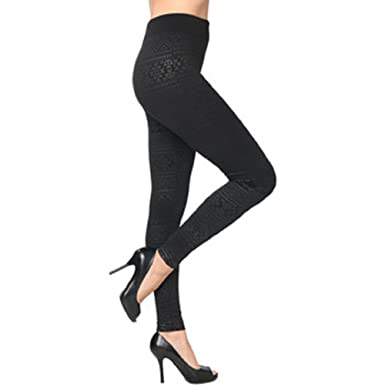 0a3f90221d0 Isadora Paccini NY Women s Seamless Print Leggings - Wholesale Case of 12  Units - Guarantee America