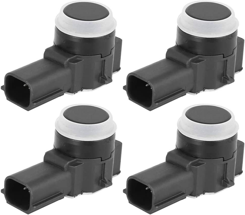 X AUTOHAUX 4pcs Car Reverse PDC Parking Assist Sensor 52050134 for 2014-2017 Cadillac CTS 2015-2017 Cadillac Escalade 2014-2017 Cadillac XTS