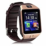 Alike C05 Bluetooth Smart Watch for Iphone & Android Smart Watch (Gold)
