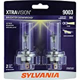 SYLVANIA 9003 (also fits H4) XtraVision Halogen Headlight Bulb, (Pack of 2)