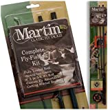 Zebco Sales Co. LLC MRT56TK-6L-BP6 MARTIN COMPLETE FLY ROD KIT