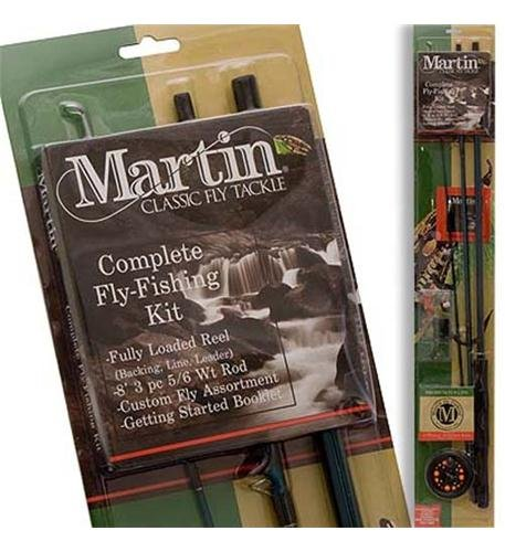 Price comparison product image Zebco Sales Co. LLC MARTIN COMPLETE FLY ROD KIT