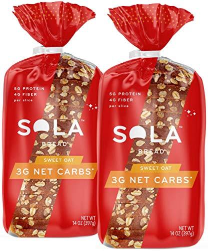 Sola Sweet Oat Bread – Low Carb, Low