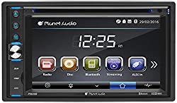 Planet Audio P9630b Double Din Bluetooth Car Stereo