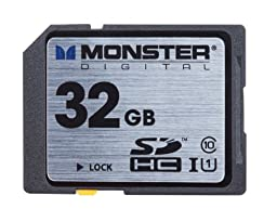 Monster Digital Monster Digital Vault Series 32 GB SDHC Class 10 Memory Card FSD-0032