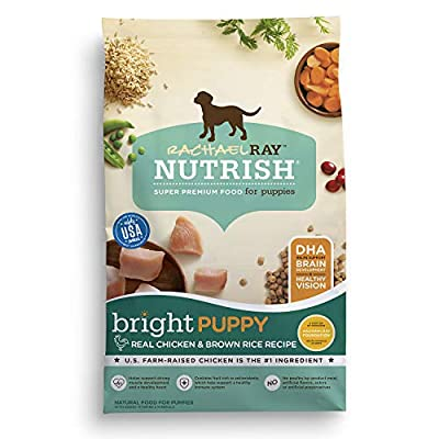 Rachael Ray Nutrish Bright Puppy Real Chicken & Brown Rice Recipe Dry Dog Food