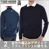 Nike Men's TW Pullover Golf Top (Black, M)