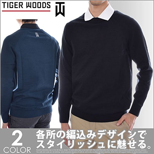 Nike Men's TW Pullover Golf Top (Black, M) by Nike (Image #6)