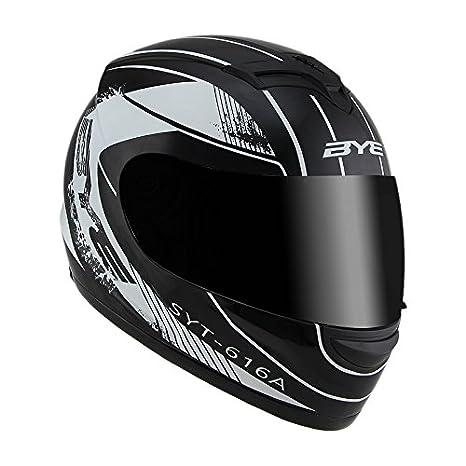 Amazon.com: Woljay Full Face Helmet Motorcycle Street Bike Helmets (C): Automotive