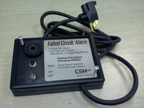 Failed Circuit Alarm (Alarm Circuit)