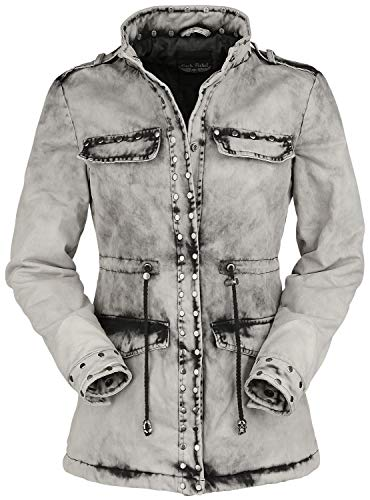 Ladies Rebel Emp Chaqueta Rock Gris Field tiempo Entre azul By Jacket ntxqnwAZp