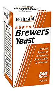 BREWERS YEAST 240COMP