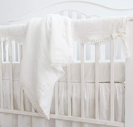 Amazon.com: Sahaler - Juego de ropa de cama para cuna de ...