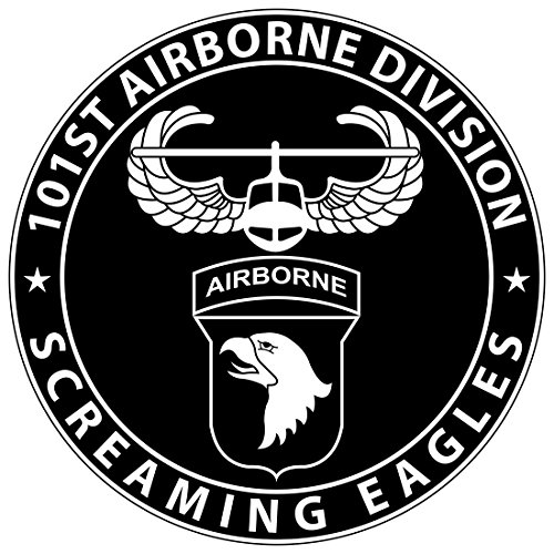 - Sticker Pup 101st Airborne 6 Inch Sticker