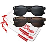 Best grinderPUNCH Sunglasses For Men - grinderPUNCH Men's Polarized Sunglasses - Flat Matte Frames Review