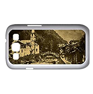 Old Mountain Village, Europe Watercolor style Cover Samsung Galaxy S3 I9300 Case