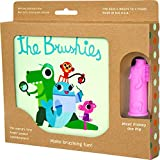 The Brushies Baby & Toddler Toothbrush & Storybook Set, Pinkey The Pig