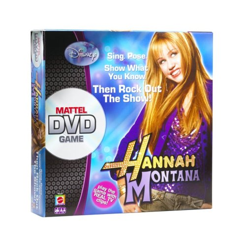 Disney Hannah Montana Mattel DVD Game (Singing Dvd Bee)