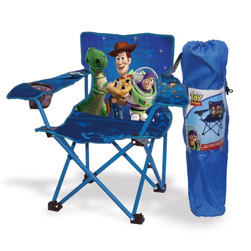 Disney Pixar Toy Story Kids Folding Camp Chair - Toy Story Storage