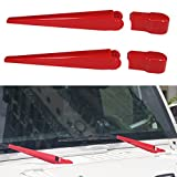 MOEBULB Window Windshield Wiper Arm Cover for 2007-2017 Jeep...