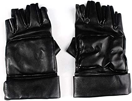 Amazon Com Mtxc Resident Evil 4 Afterlife Cosplay Accessories Leon Scott Kennedy Gloves Black Toys Games