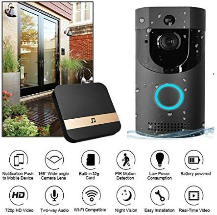 [해외]Wireless WiFi DoorBell Smart Video Phone Door Visual Ring Intercom Secure Camera / Wireless WiFi DoorBell Smart Video Phone Door Visual Ring Intercom Secure Camera