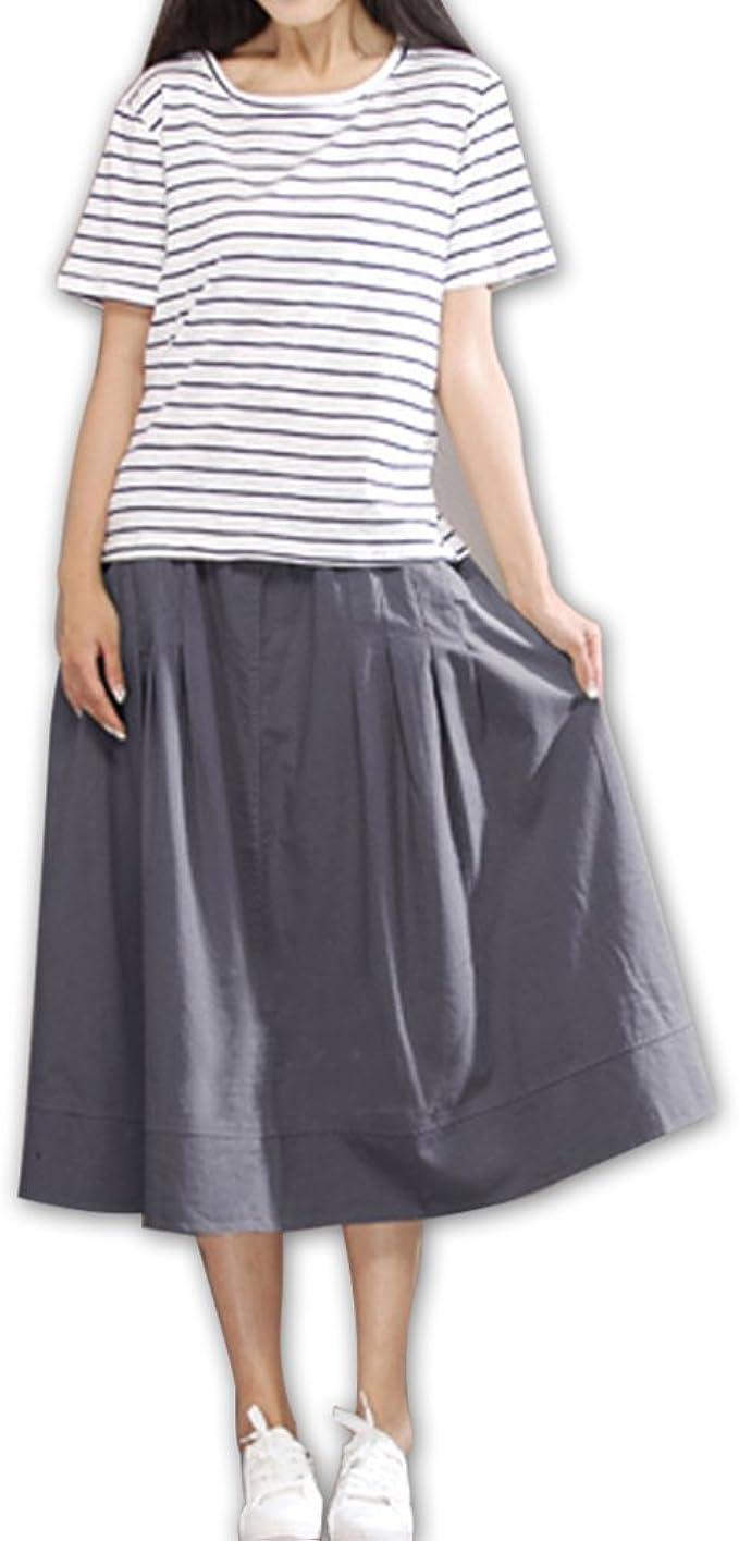 Faldas para Mujer De Verano Casual Falda Moda para Mujer Moda ...