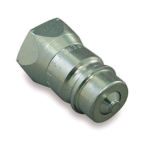 3-4-14-steel-hydraulic-coupler-nipple-1-2-body-size-1-each-by-safeway-hydraulics