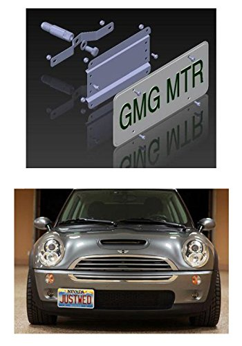 New Cooper Mini Works John (GMG Motorsports MINI Cooper NO HOLES License Plate Bracket (up to 2014 / R Models) DOES NOT FIT New F55/ F56/ F57, Countryman, Clubman or Paceman Models)