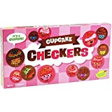 Peaceable Kingdom Cupcake Checkers Game for Kids with Magnetic Stackable Pieces