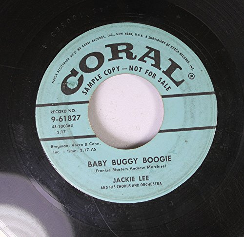 frankie masters andrew marchisel 45 RPM baby buggy boogy / sippin' soda (Buggy Andrew)
