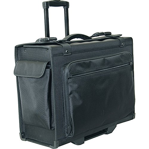 Netpack 20'' Hard Side Rolling Computer Catalog Case (Black) by Netpack